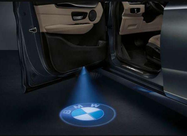 купить LED подсветка двери с логотипом BMW