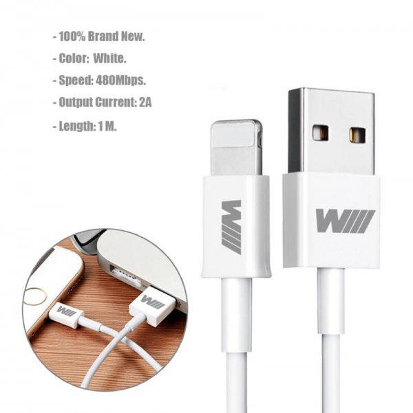 фото Lightning/USB кабель для iphone 5/5S/6/6S/7/8/10/X