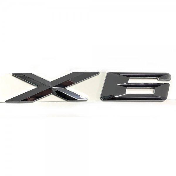 фото купить значок на крышку багажника bmw x6