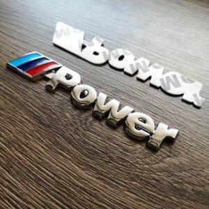 фото эмблема шильдик bmw m power