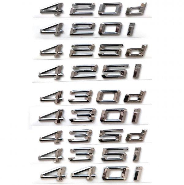 фото цифры объема двигателя bmw 420d 420i 425d 425i 430d 430i 435d 435i 440i