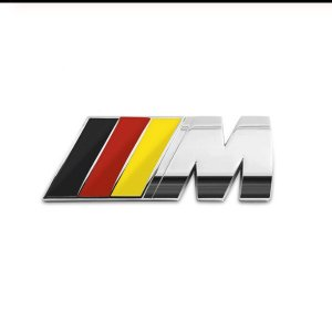 фото значок bmw m germany на крышку багажника