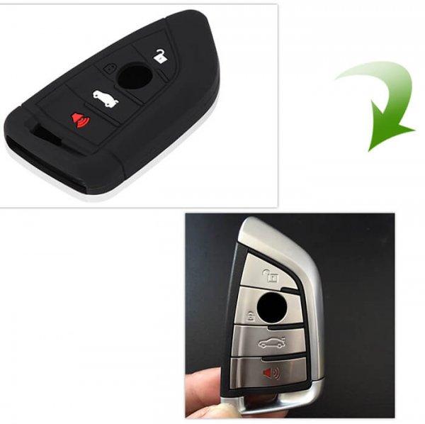 фото силиконовый чехол на ключ bmw f15 f16