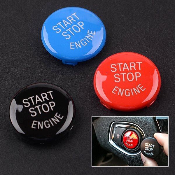 фото кнопка start stop bmw