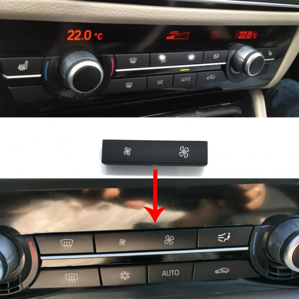 фото кнопки вентилятора климат контроля для bmw f10 f11 f01 f02 f06 f07 f18 f01 f02