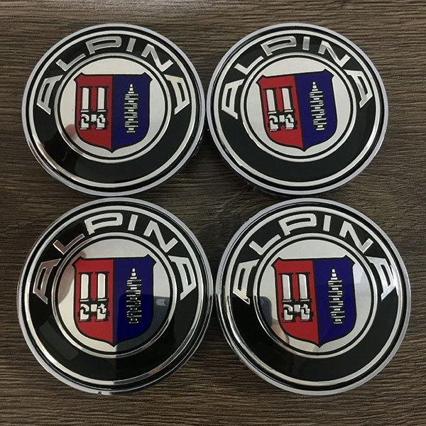 колпачки в диски bmw Alpina
