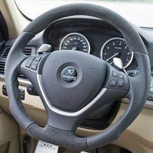 фото эмблема Hamann на руль