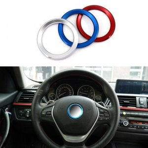 фото стальное кольцо в руль бмв