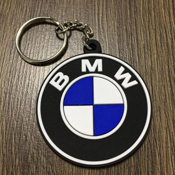 фото силиконовый брелок с логотипом bmw