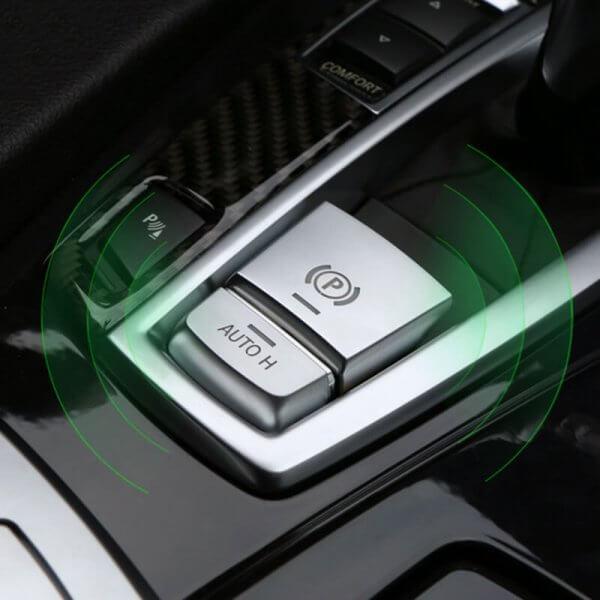 фото накладки на кнопки ручного тормоза bmw
