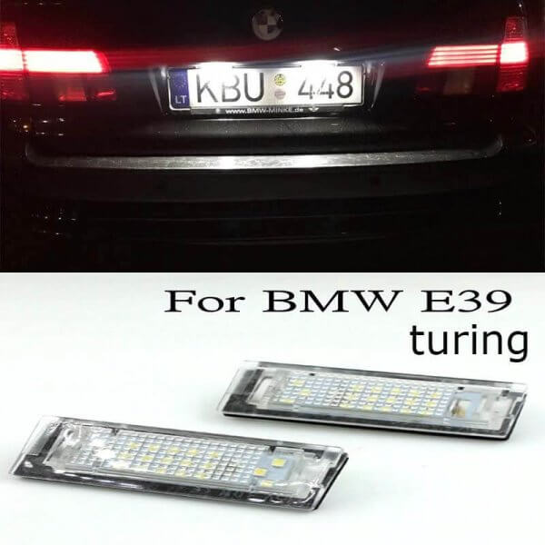 картинки подсветка номера бмв e39 туринг