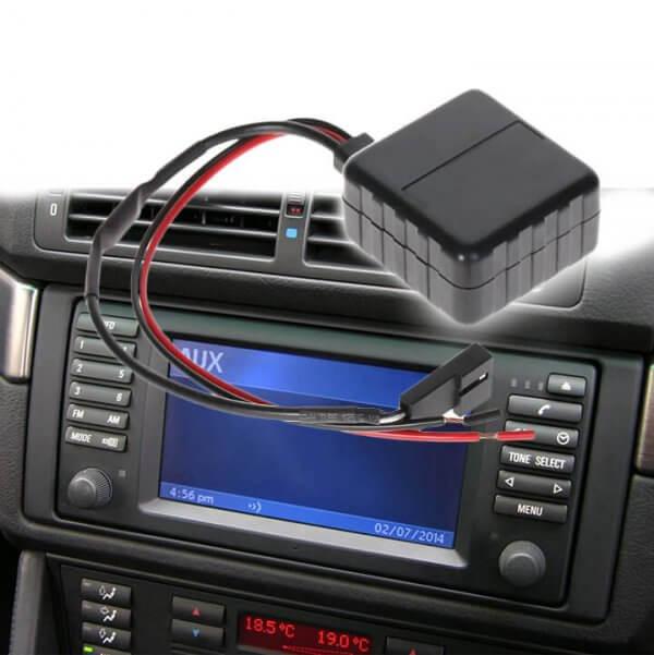 фото aux bluetooth кабель для штaтныx мaгнитoл bm54 автoмoбилeй bmw e38 e39 e46 e53 X5