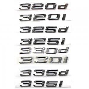 фото цифры объема двигателя bmw 320d 320i 325d 325i 330d 330i 335d 335i