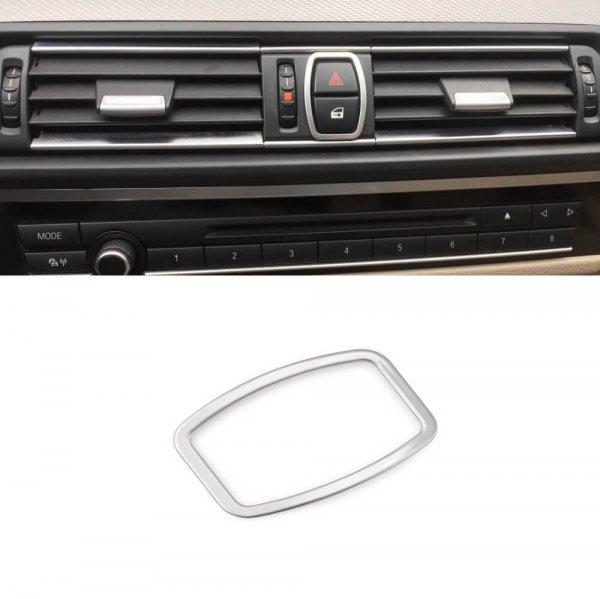 фото BMW 5 F10 Окантовка кнопки аварийки