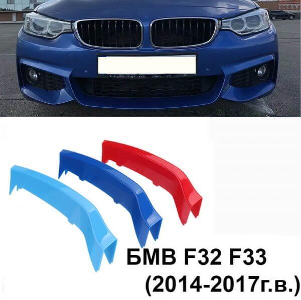 накладки на ноздри bmw f32 f33