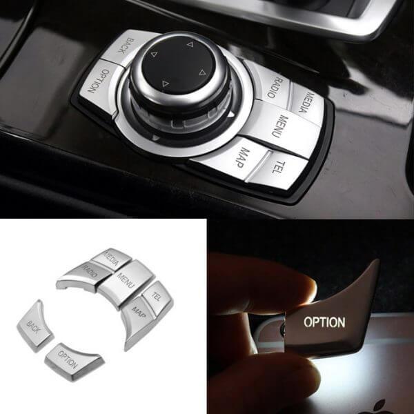 фото накладки на кнопки джойстика bmw idrive NBT і CIC