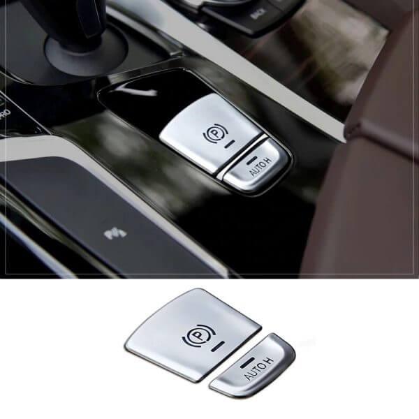 картинки накладки на кнопки ручного тормоза bmw G30 G01 G02 F40