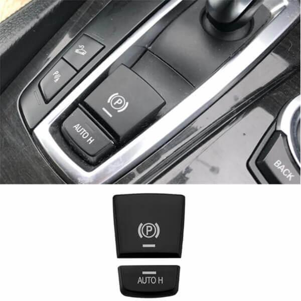 фото накладки на кнопки ручного тормоза бмв