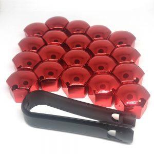 фото красные колпачки на болты дисков