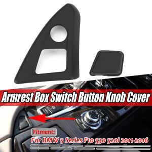 накладка на кнопку открывания подлокотника для bmw f10
